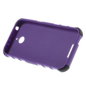 Outdoor odolný kryt na mobil HTC Desire 510 - fialový - 4