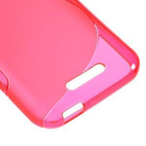 S-line gelový obal na mobil HTC Desire 510 - rose - 4