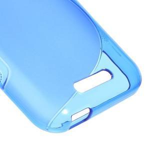 S-line gelový obal na mobil HTC Desire 510 - modrý - 4