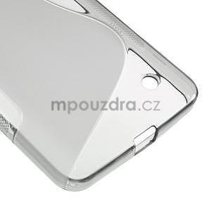 Gelový s-line obal na Microsoft Lumia 640 - šedý - 4