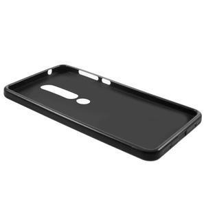 Matný gelový obal na Nokia 6.1 - černý - 4