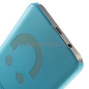 Plastový obal na Samsung Galaxy A3 - modrý - 4