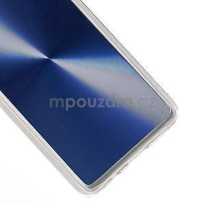 Metalický plastový obal na Samsung Galaxy A3 - modrý - 4