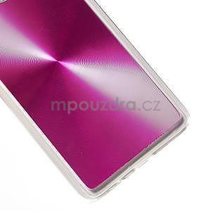 Metalický plastový obal na Samsung Galaxy A3 - růžový - 4