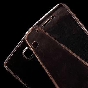 Gelový obal 2v1 pro zadní kryt a displej na Samsung Galaxy A5 (2016) - rose gold - 4