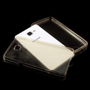 Gelový obal 2v1 pro zadní kryt a displej na Samsung Galaxy A5 (2016) - zlatý - 4