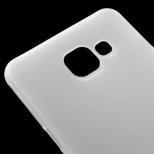 Matný gelový kryt na mobil Samsung Galaxy A5 (2016) - bílý - 4