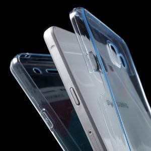 Gelový obal 2v1 pro zadní kryt a displej na Samsung Galaxy A5 (2016) - modrý - 4