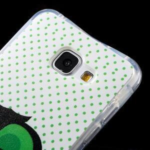 Tvarovaný gelový obal na Samsung Galaxy A5 (2016) - sova - 4