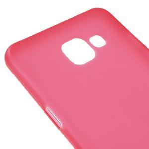 Matný gelový kryt na mobil Samsung Galaxy A5 (2016) - červený - 4