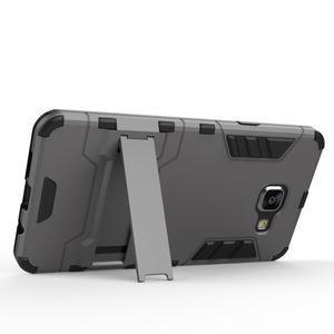 Odolný kryt na mobil Samsung Galaxy A5 (2016) - šedomodrý - 4
