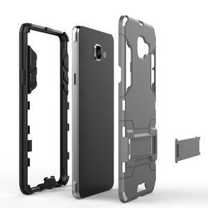 Odolný kryt na mobil Samsung Galaxy A5 (2016) - stříbrný - 4