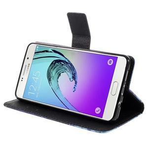Stylové pouzdro na mobil Samsung Galaxy A5 (2016) - vlci - 4