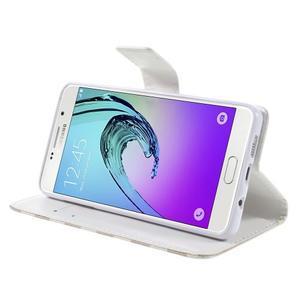 Stylové pouzdro na mobil Samsung Galaxy A5 (2016) - srdíčka - 4