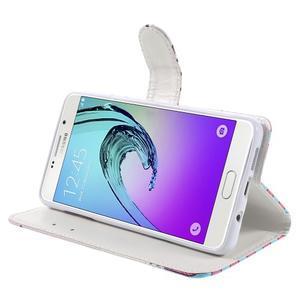 Stylové pouzdro na mobil Samsung Galaxy A5 (2016) - motýlci - 4