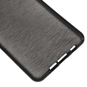 Brush gelový obal na Samsung Galaxy A5 (2016) - černý - 4