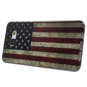 Obal s motivem na mobil Samsung Galaxy A5 (2016) - US vlajka - 4