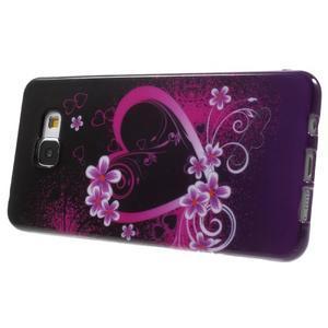 Obal s motivem na mobil Samsung Galaxy A5 (2016) - srdce - 4