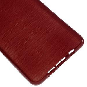 Brush gelový obal na Samsung Galaxy A5 (2016) - červený - 4