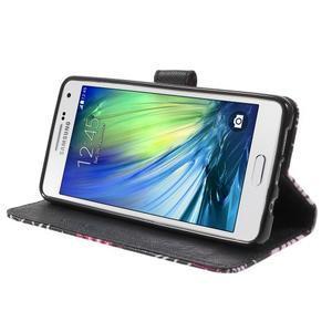 Koženkové pouzdro na Samsung Galaxy A5 (2016) - kouzelní motýlci - 4