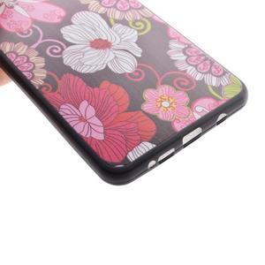 Gelový obal na mobil Samsung Galaxy A5 (2016) - květiny - 4