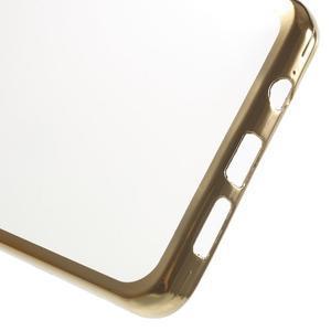Gelový obal se zlatým lemem na mobil Samsung Galaxy A5 (2016) - 4
