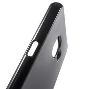 Jelly lesklý pružný obal na Samsung Galaxy A5 (2016) - černý - 4
