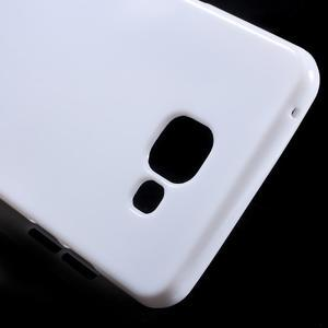 Jelly lesklý pružný obal na Samsung Galaxy A5 (2016) - bílý - 4