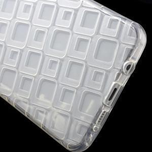Square gelový obal na mobil Samsung Galaxy A5 (2016) - transparentní - 4