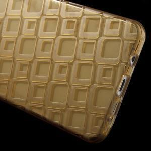 Square gelový obal na mobil Samsung Galaxy A5 (2016) - zlatý - 4