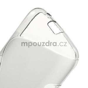 Gelové s-line pouzdro na Samsung Galaxy Ace 4 - šedé - 4