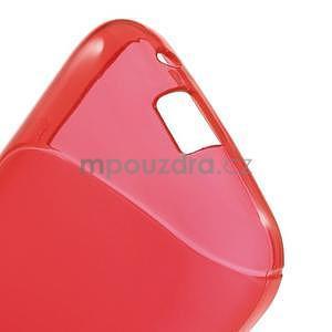 Gelové s-line pouzdro na Samsung Galaxy Ace 4 - červené - 4