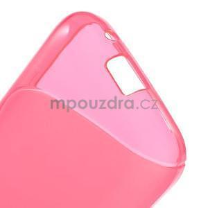 Gelové s-line pouzdro na Samsung Galaxy Ace 4 - růžové - 4