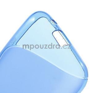 Gelové s-line pouzdro na Samsung Galaxy Ace 4 - modré - 4