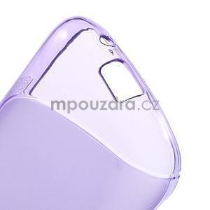 Gelové s-line pouzdro na Samsung Galaxy Ace 4 - fialové - 4