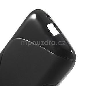 Gelové s-line pouzdro na Samsung Galaxy Ace 4 - černé - 4