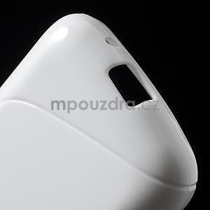 Gelové s-line pouzdro na Samsung Galaxy Ace 4 - bílé - 4