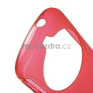Červený s-line gelový kryt na Samsung Galaxy K Zoom C115 - 4