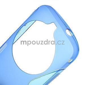 Modrý s-line gelový kryt na Samsung Galaxy K Zoom C115 - 4