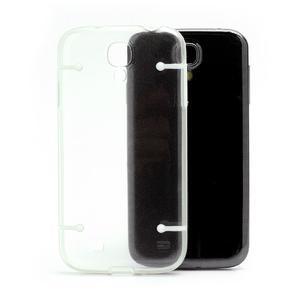 Obal na mobil se svítícími hranami na Samsung Galaxy S4 - bílé - 4