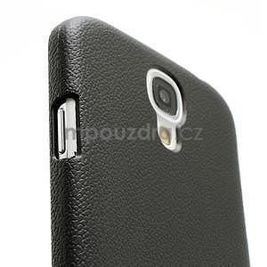 Plastové poudro na Samsung Galaxy S4 - černé - 4