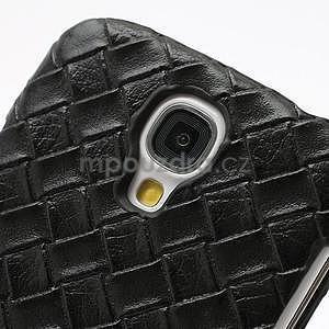 PU kožené pouzdro na Samsung Galaxy S4 - černé - 4