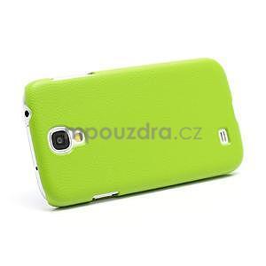 Plastové poudro na Samsung Galaxy S4 - zelené - 4
