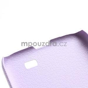Plastové poudro na Samsung Galaxy S4 - fialové - 4