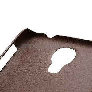 Plastové poudro na Samsung Galaxy S4 - hnedé - 4