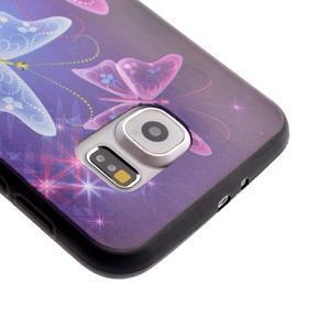 Jells gelový obal na Samsung Galaxy S7 - kouzelní motýlci - 4