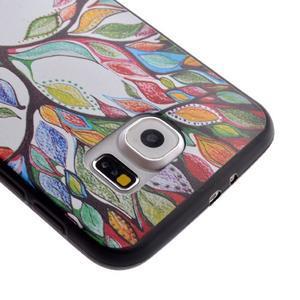 Jells gelový obal na Samsung Galaxy S7 - malovaný strom - 4