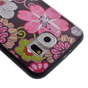 Jells gelový obal na Samsung Galaxy S7 - květiny - 4