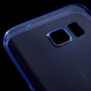 Ultratenký gelový obal na mobil Samsung Galaxy S7 - modrý - 4