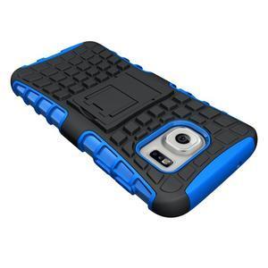 Outdoor odolný obal na mobil Samsung Galaxy S7 - modrý - 4